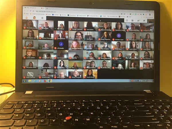 Bragg's Virtual Staff Meeting - We are all in this together!