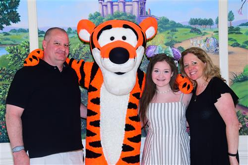 The Thompson with Tigger